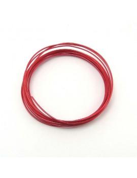 Fils aluminium rouge 1,5 mm...