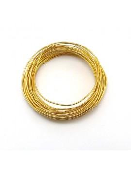 Fils aluminium doré 1,5 mm...