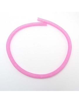 résille tubulaire rose 8 mm...