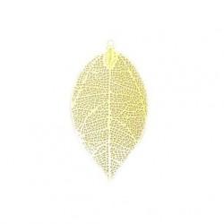 Estampe feuille doré 55 mm