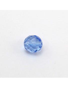 Perle à facettes bleuet 12 mm
