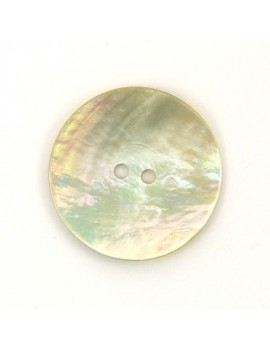 Bouton en nacre naturel 28 mm