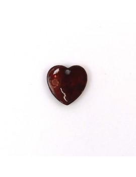 Pendentif nacre 14 mm coeur...