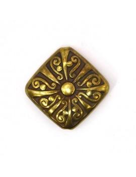 Perle CCB bronze losange...