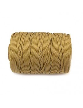 Cordon polyester 1 mm beige...