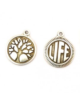 Médaille life/arbre argent...