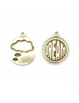 Médaille dream/nuage argent...