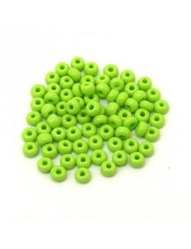 Rocailles 4/0 - 5 mm vert...