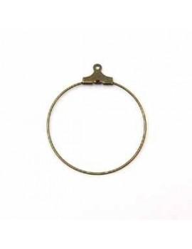 Base anneau 30 mm bronze