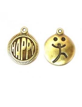 Médaille happy/joyeux...