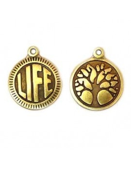 Médaille life /arbre bronze...
