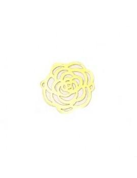 Estampe fleur 25 mm 2...
