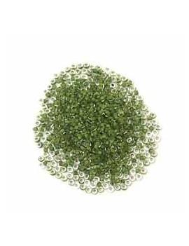 Rocailles 11/0 - 2 mm vert...