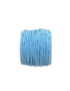Elastique bleu ciel 1 mm -...
