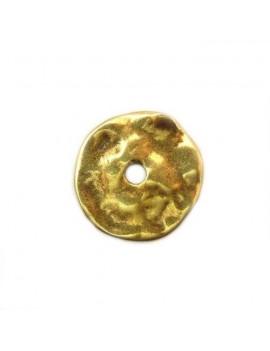 Perle donuts 42 mm bronze