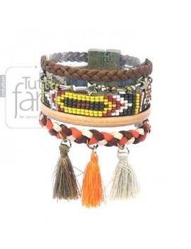 Bracelet manchette ethnique...