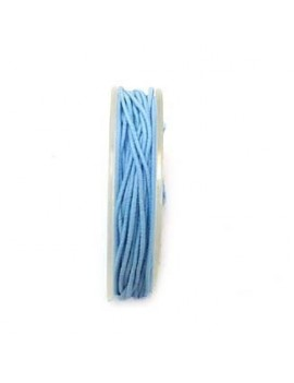 Bobine élastique 1 mm bleu...
