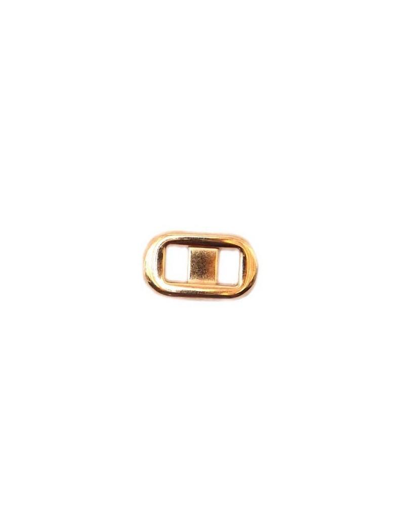 Passant type boucle de ceinture rose doré 13x23 mm 620cfe592ae