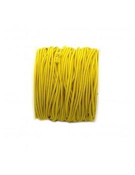 Elastique jaune 1 mm - 50 cm