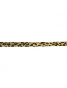 Ruban élastique léopard...