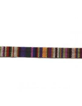 Corde ethnique en coton 10...
