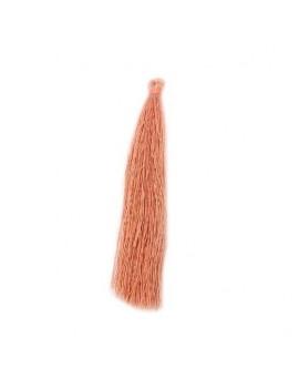 Pompon polyester rose 90 mm
