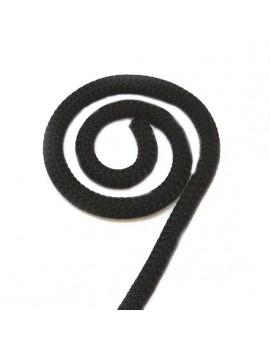 Corde noir 10 mm - 10 cm