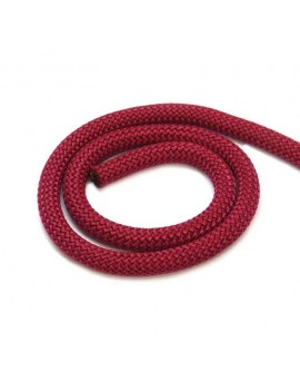 Corde bordeaux 10 mm - 10 cm