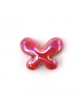 Papillon céramique émaillé...