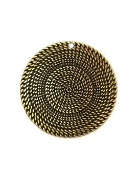 Médaille corde bronze 50 mm