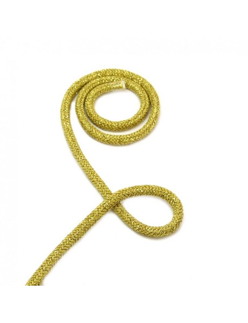 Corde doré 5 mm - 10 cm