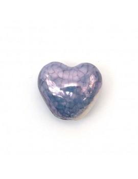 Coeur céramique émaillé...