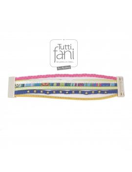 Bracelet coloré manchette