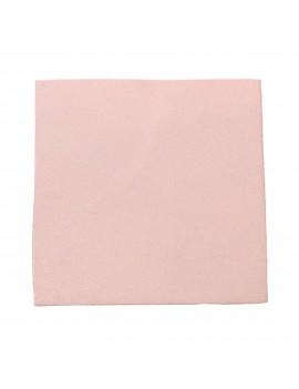Carré cuir 8x8 cm rose clair