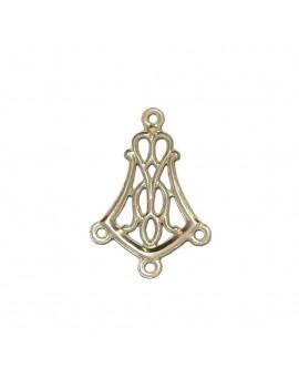 Multi-rangs chandelier acier inox 13x20 mm