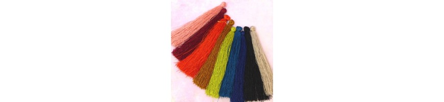 Pompons polyester